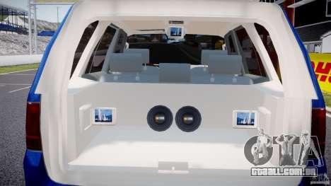 Lincoln Navigator 2004 para GTA 4 interior