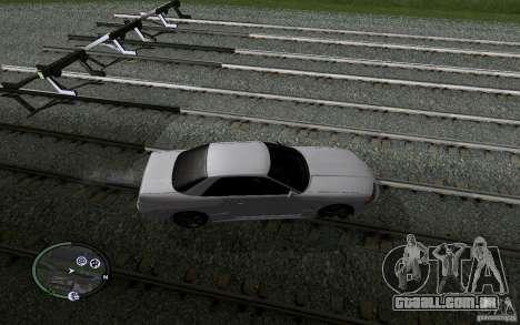 Rails russos para GTA San Andreas décima primeira imagem de tela