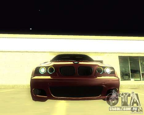 BMW 330 Ci para GTA San Andreas vista direita