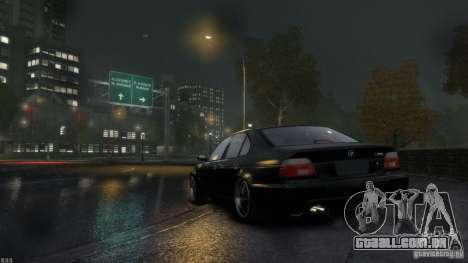 BMW M5 E39 BBC v1.0 para GTA 4 vista direita