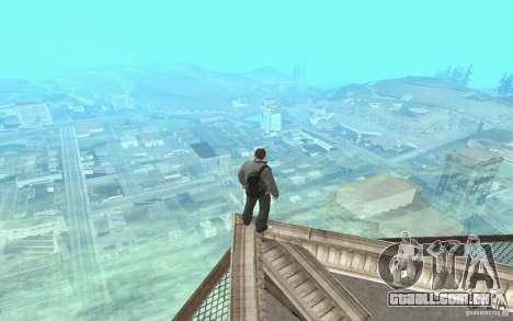 Animação de GTA IV para GTA San Andreas quinto tela