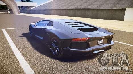 Lamborghini Aventador LP700-4 [EPM] 2012 para GTA 4 traseira esquerda vista
