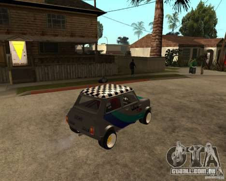 Mini Cooper para GTA San Andreas vista direita