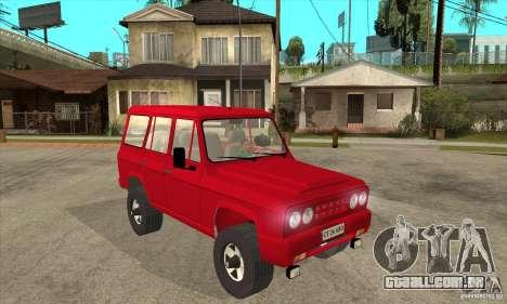 ARO 244 para GTA San Andreas vista traseira