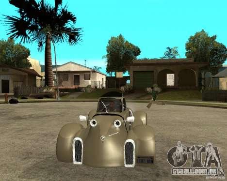 Messerschmitt GT500 Tiger Hard tuned para GTA San Andreas vista traseira