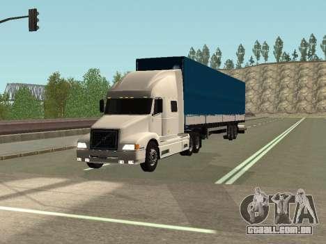 Volvo VNL para GTA San Andreas esquerda vista