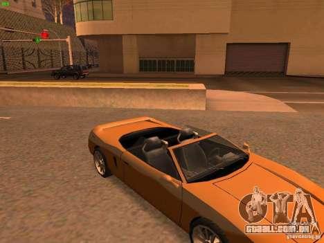 Infernus Revolution para GTA San Andreas vista interior