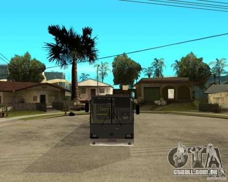 LIAZ 5256.25 Restyling para GTA San Andreas vista traseira