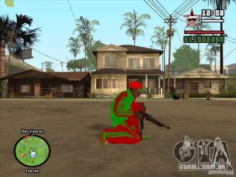 Substituição completa da loja Binco Adidas para GTA San Andreas