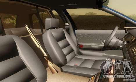 Ford Crown Victoria Michigan Police para GTA San Andreas traseira esquerda vista