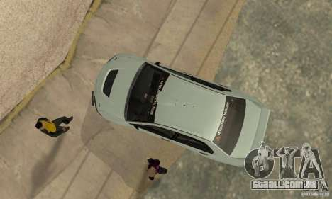 Mitsubishi Lancer Evolution IX para GTA San Andreas vista interior