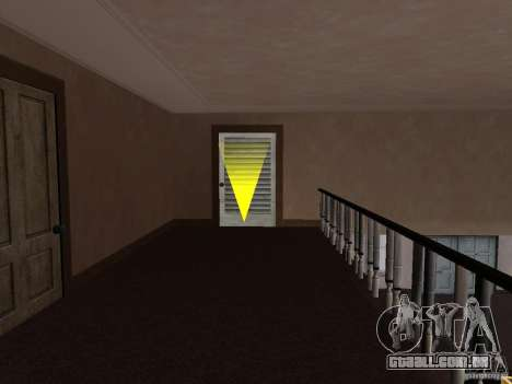 Apartamento secreto para GTA San Andreas quinto tela