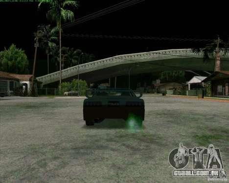 Supergt - Police S para GTA San Andreas vista direita