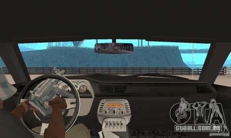 Dodge Challenger 2007 para GTA San Andreas vista traseira