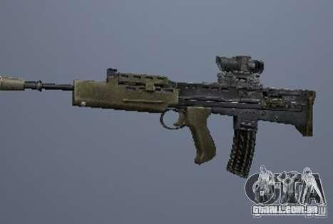 Um conjunto de armas do perseguidor V3 para GTA San Andreas sexta tela