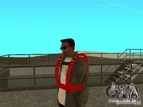 Pára-quedas de TBOGT para GTA San Andreas segunda tela