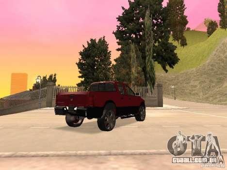Dodge Ram 2010 para GTA San Andreas esquerda vista