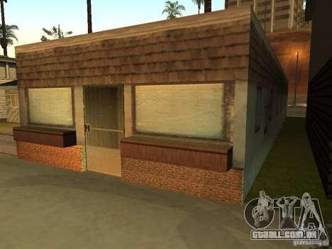 Casa na praia de Santa Maria 2.0 modificada para GTA San Andreas segunda tela
