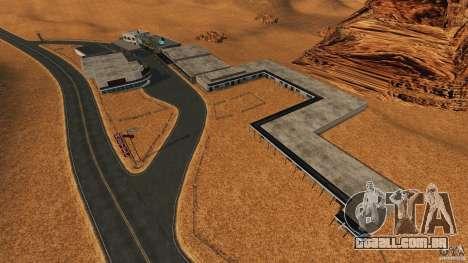 Red Dead Desert 2012 para GTA 4 quinto tela