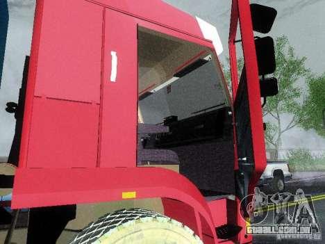 KAMAZ 65117 para GTA San Andreas vista traseira