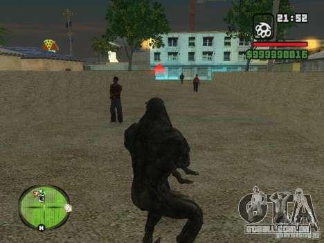 Bibliotekar para GTA San Andreas sexta tela