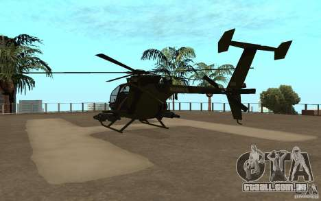 AH 6 para GTA San Andreas vista direita