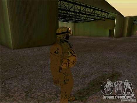 Morpeh americano para GTA San Andreas por diante tela