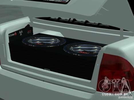 Lada Priora Adidas para GTA San Andreas vista direita