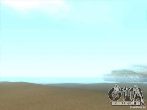 ENBSeries para PC médio e fraco para GTA San Andreas sexta tela