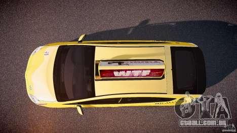 Toyota Prius NYC Taxi 2011 para GTA 4 vista direita