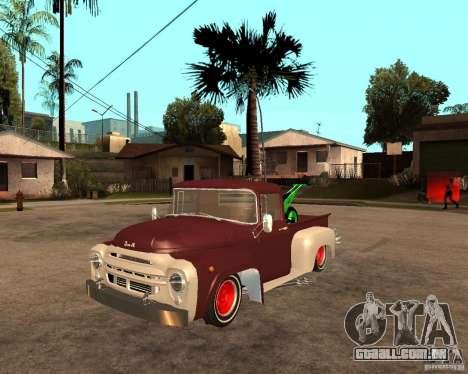 ZIL 130 Tempe ardente Final para GTA San Andreas