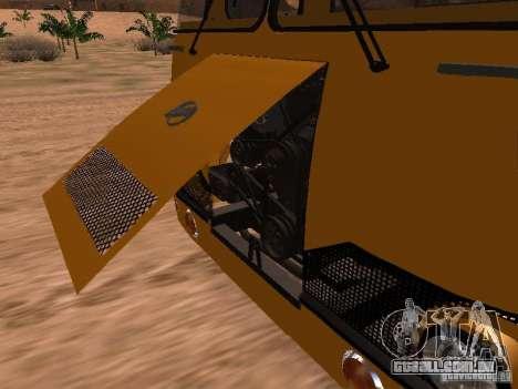 LIAZ 677 para GTA San Andreas vista direita