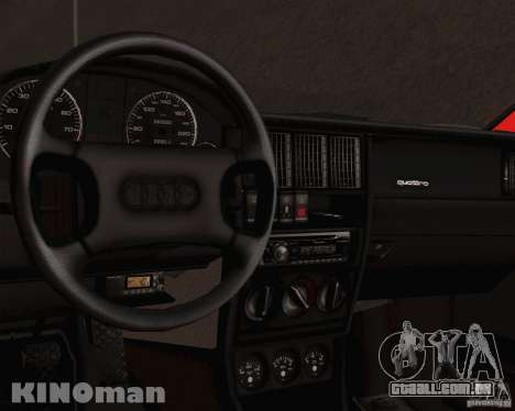 Audi 90 Quattro para GTA San Andreas vista direita