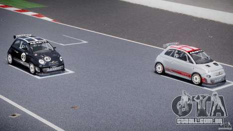 Fiat 500 Abarth para GTA 4 rodas