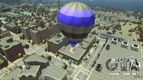 Balloon Tours option 8 para GTA 4 traseira esquerda vista