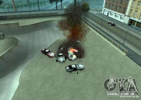 Novos efeitos de explosões para GTA San Andreas segunda tela