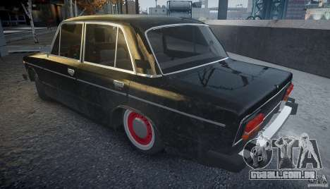 Vaz 2106 Rat look para GTA 4 esquerda vista