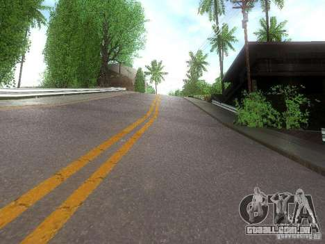 Modification Of The Road para GTA San Andreas terceira tela
