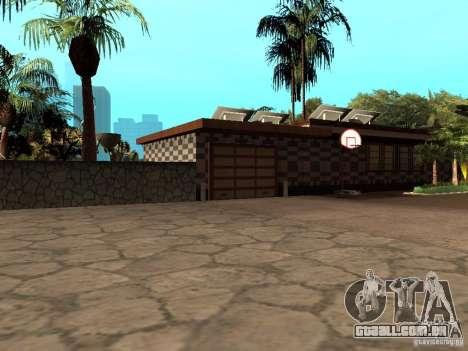 Reteksturirovannyj casa CJeâ V1 para GTA San Andreas segunda tela