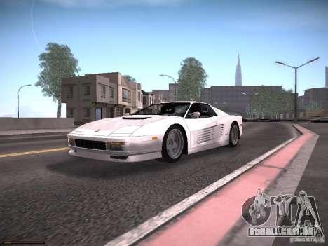 LiberrtySun Graphics ENB v2.0 para GTA San Andreas oitavo tela
