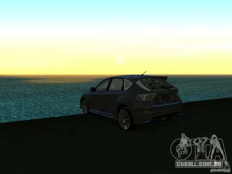 GFX Mod para GTA San Andreas sexta tela