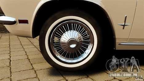 Chevrolet Corvair Monza 1969 para GTA 4 vista lateral