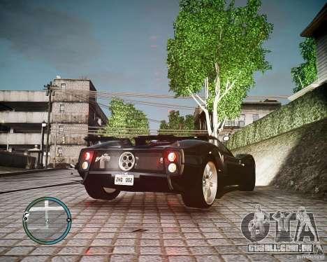 Pagani Zonda C12S Roadster para GTA 4 esquerda vista