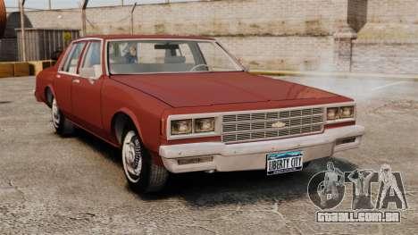 Chevrolet Caprice Classic 1979 para GTA 4