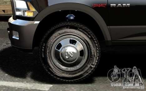 Dodge Ram 3500 Stock Final para GTA 4 vista inferior