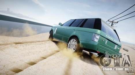 Range Rover Vogue para GTA 4 motor