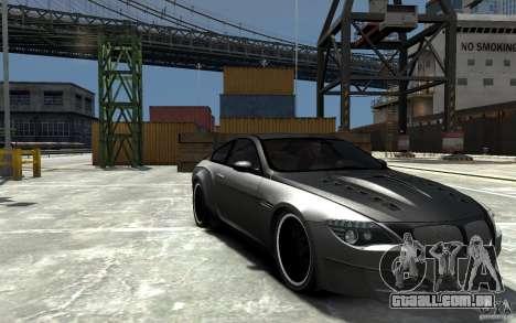 BMW M6 Tuning para GTA 4 vista de volta