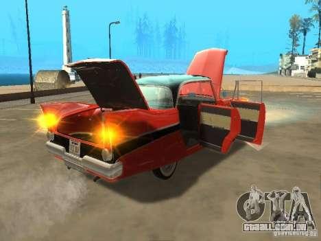 Plymouth Belvedere Sport sedan para GTA San Andreas vista direita