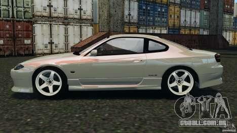 Nissan Silvia S15 Drift para GTA 4 esquerda vista