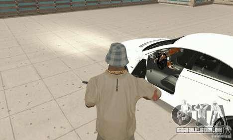 Mercedes-Benz CLS 63 AMG para GTA San Andreas vista traseira